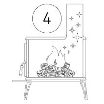 čistiaci prášok na odstránenie dechtu a sadzi s dávkovačom - postup 4