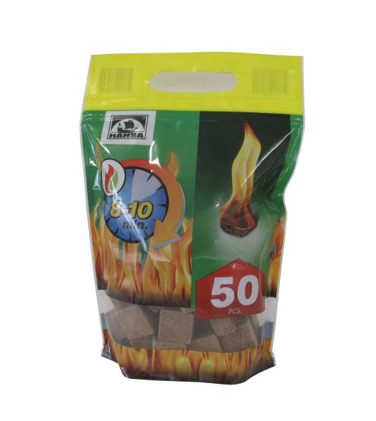 podpaľovač dokrbu bal. 50 ks