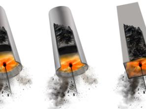 Rotačná kefa TORNADO pre všetky typy a druhy komínov a dymovodov