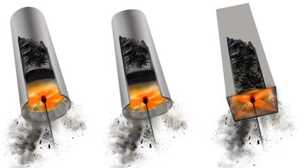Rotačná kefa TORNADO pre všetky typy adruhy komínov adymovodov
