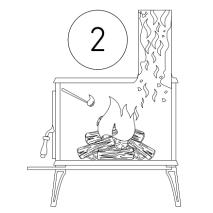 čistiaci prášok na odstránenie dechtu a sadzi s dávkovačom - postup 2