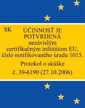 EU potvrdenie