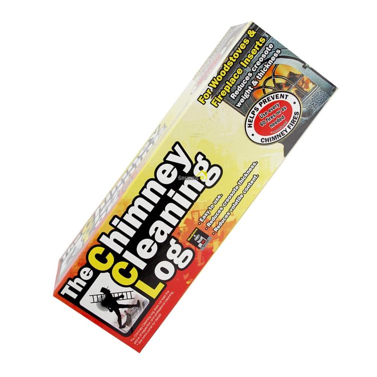 čistič komína CCL účinné poleno na odstránenie dechtu a sadzí