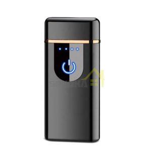 plazmovy-zapaľovac-na-cigarety-cierny-USB-nabijanie-dotykovy