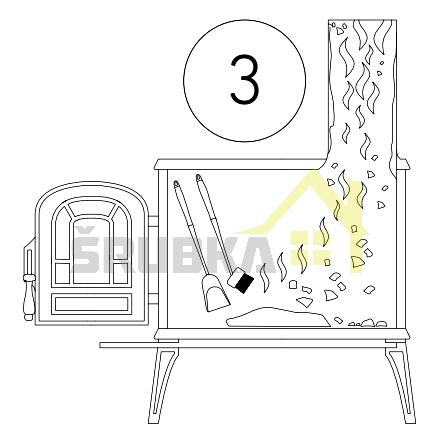 čistiaci prášok naodstránenie dechtu asadzi sdávkovačom - postup 3