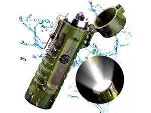 maskacovy-plazmovy-zapaľovac-s-led-svetlom-vode-odolny-USB-nabijanie